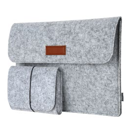 dodocool DA58 12-Inch Laptop Felt Sleeve Bag