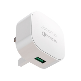 [Qualcomm Quick Charge 3.0] dodocool Quick Charge 3.0 18W USB Wall Charger for LG G5 / HTC One A9 / Sony Xperia Z4 Tablet / Xiaomi Mi 5 / LeTV Le MAX Pro UK Plug