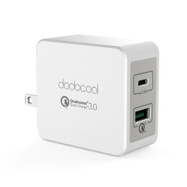dodocool DA101 33W 2-Port USB Wall Charger