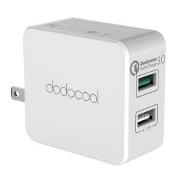 dodocool DA67 Dual USB Charger with Quick Charge 3.0