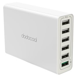 dodocool DA102 6-Port USB Wall Charger