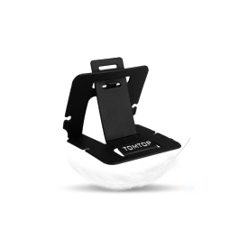 TOMTOP Universal PVC Cell Phone Card Folding Stand Holder Bracket Mount for iPhone 6 4.7